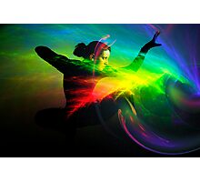 electric spirit force Photographic Print