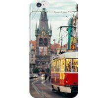 Prague streets iPhone Case/Skin