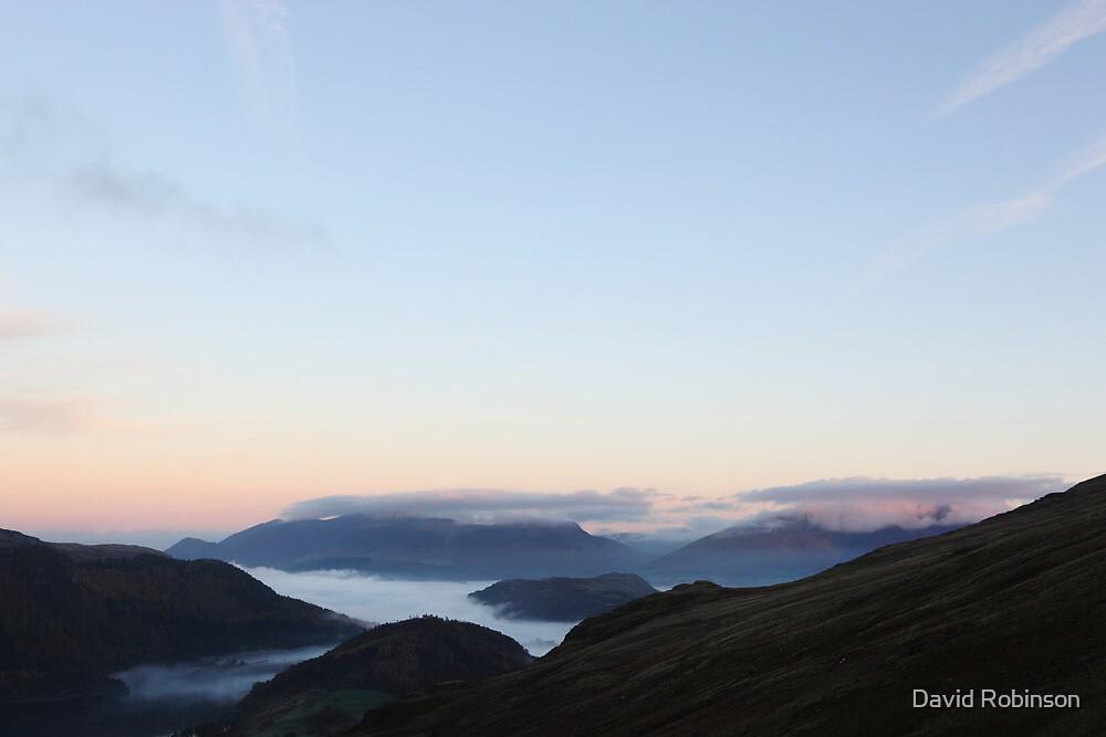 Morning light from Helvellyn by David Robinson