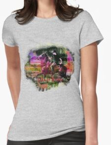 Ghost Rider Womens Fitted T-Shirt