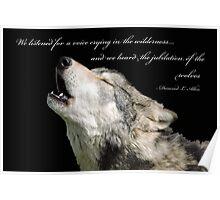 The Jubilation Of The Wolves (V2) Poster
