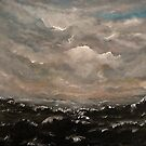 The Cruel Sea (Acrylic) by Paul Horton