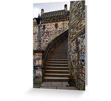 Lang Stairs, Edinburgh Greeting Card