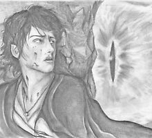 Frodo faces Sauron by Furzzy15
