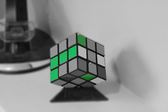 Rubik green by barneycharles