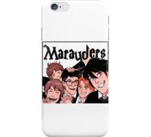 Marauders! iPhone Case/Skin