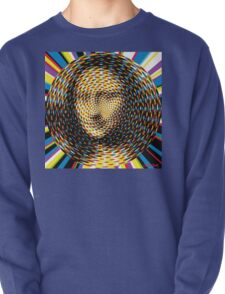 Psychedelic Mona Lisa Pullover