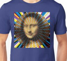 Psychedelic Mona Lisa Unisex T-Shirt