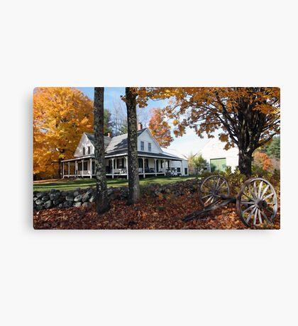 Autumn - Roundstone Farmhouse Canvas Print