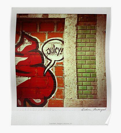 Juicy Polaroïd Poster