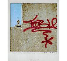 Behind the wall Polaroïd Photographic Print