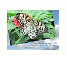 Pic Quote of the Day (writers - Ferber) Art Print