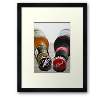 Millers and Bud! Framed Print