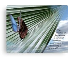 Pic Quote of the Day (writers - Ferber) Canvas Print