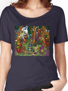 Grateful Dead Dancing Bears - Teddy Bear Picnic Women's Relaxed Fit T-Shirt