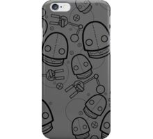 Spaztic Bots 4 iPhone Case/Skin