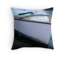 The boat - Annapolis MD Throw Pillow
