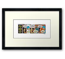 Over The Toppings Framed Print