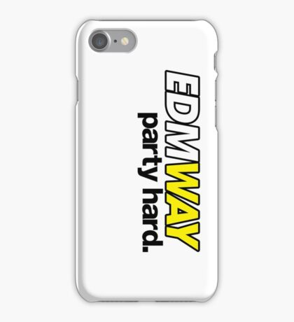 EDMWAY (special edition) iPhone Case/Skin