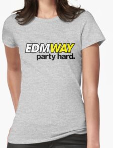 EDMWAY (special edition) Womens Fitted T-Shirt