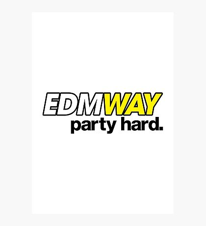 EDMWAY (special edition) Photographic Print