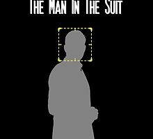 The Man In The Suit - Person of Interest by CyberWingman