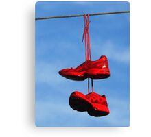 wired & hung-over Canvas Print