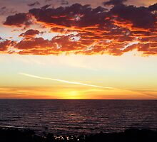 Port Hughes Sunset by Joanne Emery