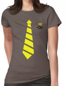 hufflepuff Womens Fitted T-Shirt