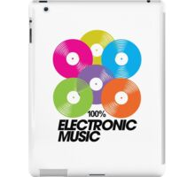 100% Electronic Music iPad Case/Skin