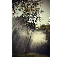 Light Smoke Photographic Print