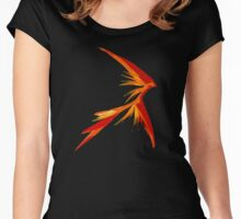 Burning Star Women's Fitted Scoop T-Shirt