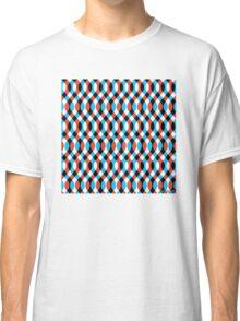 Brain Waves - Blue Classic T-Shirt