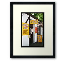 Hahndorf Lolly shop Framed Print