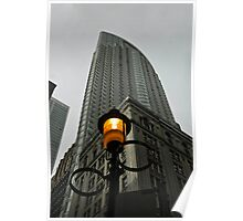 Lighting Up Downtown Poster