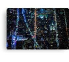 New York City At Night Pt 7 Canvas Print