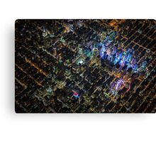New York City At Night Pt 3 Canvas Print
