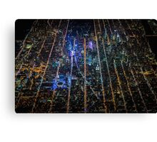 New York City At Night Pt 9 Canvas Print