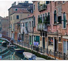 Early on Fondementa Sant'Ana by Paul Weston
