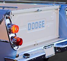 1958 Dodge Sweptside Pickup by Jill Reger