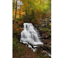 Erie Falls (Autumn) Photographic Print