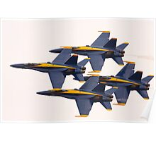 The Navy Blue Angels Poster