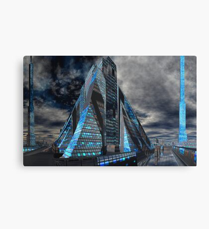Realities - The Great Pyramid Canvas Print
