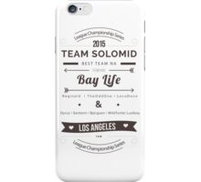 TSM Typography iPhone Case/Skin