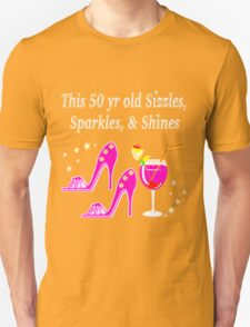50 AND FABULOUS PARTY GIRL DESIGN T-Shirt