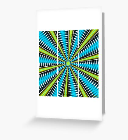 Big Bang Triptych (2014) Greeting Card