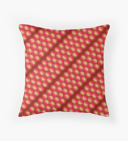 Ruby Rivers - HSE (Holistic Sensorial Experience) Throw Pillow