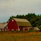 New England Country Farm by Monica M. Scanlan