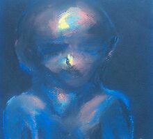 Boy (Pastel) by Niki Hilsabeck