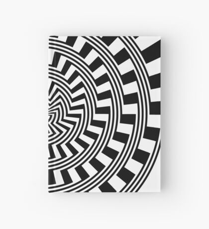 Self-Moving Unspirals Hardcover Journal